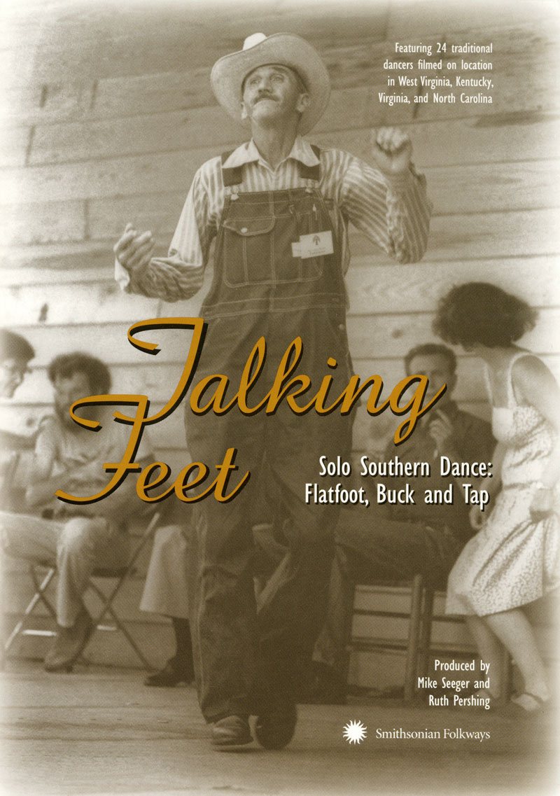 Cover of Talking Feet on DVD.