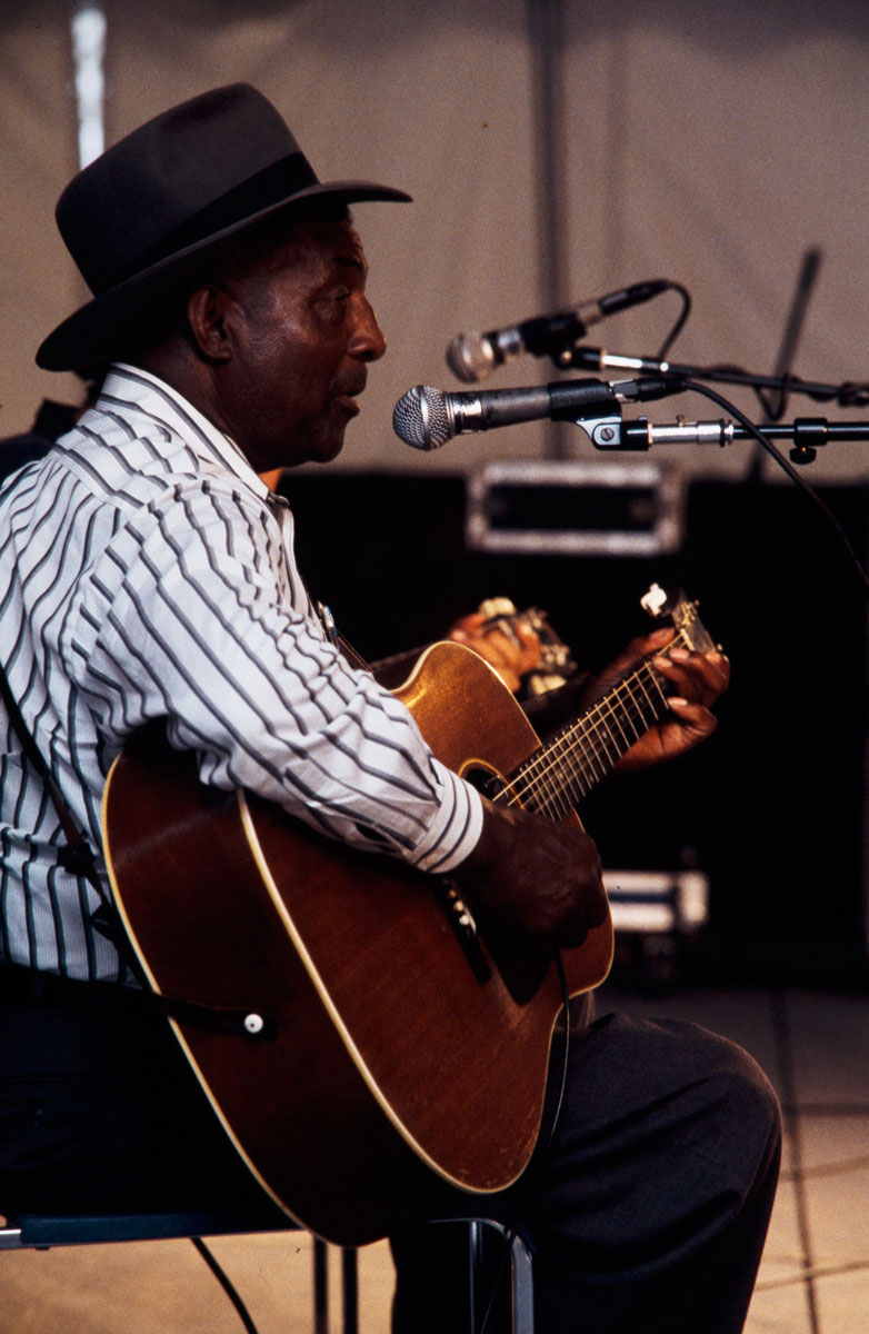 John Jackson at the 1994 Smithsonian Folklife Festival