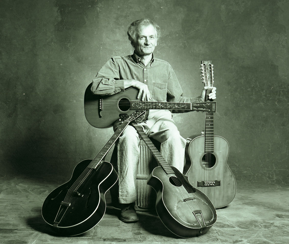 Mike Seeger photographed in Nashville in 2006.