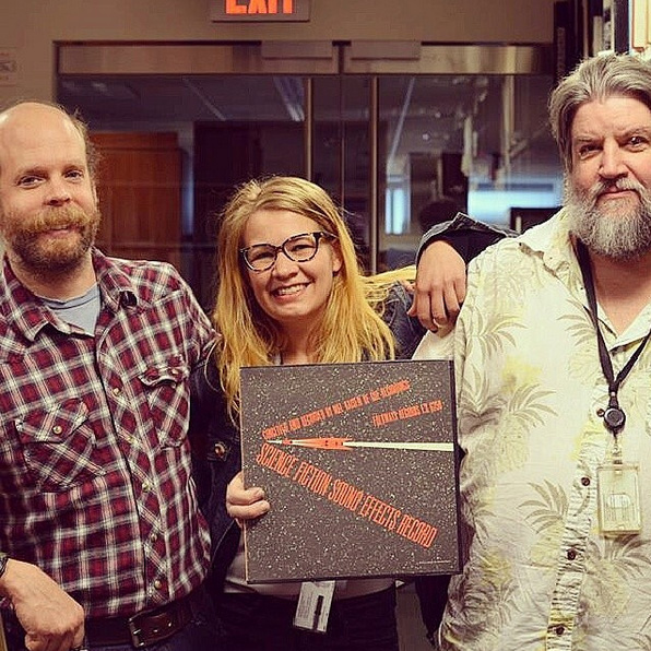 "Will Oldham a.k.a. Bonnie ""Prince"" Billy came to visit Smithsonian Folkways"
