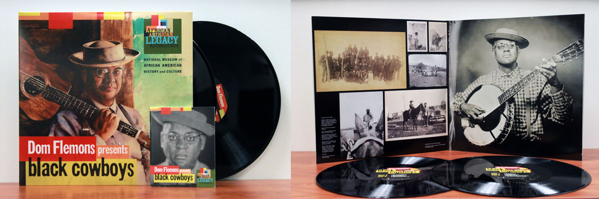 The limited vinyl edition of Black Cowboys