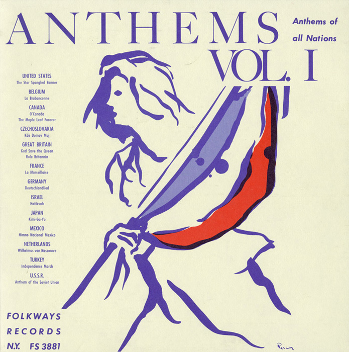 Anthems of All Nations, Vol. 1 album cover