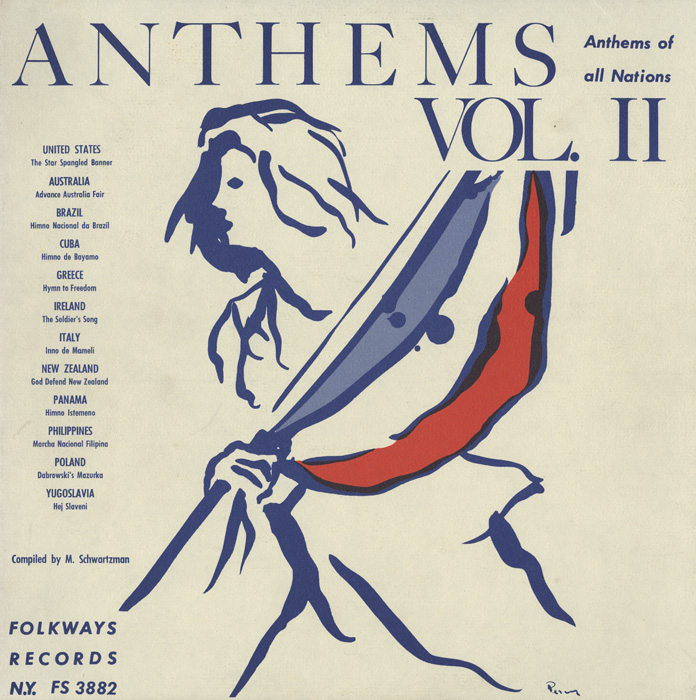 Anthems of All Nations, Vol. 2 album cover