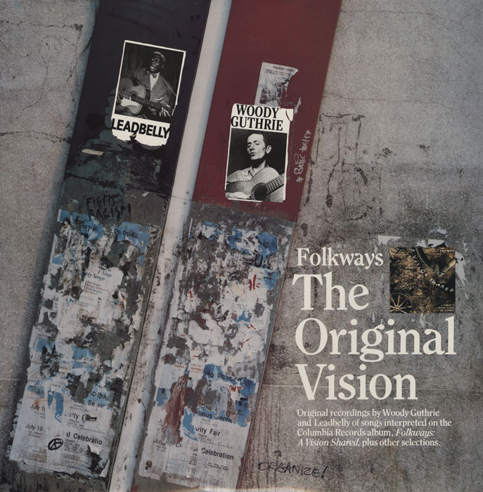 The Original Vision vinyl LP artwork