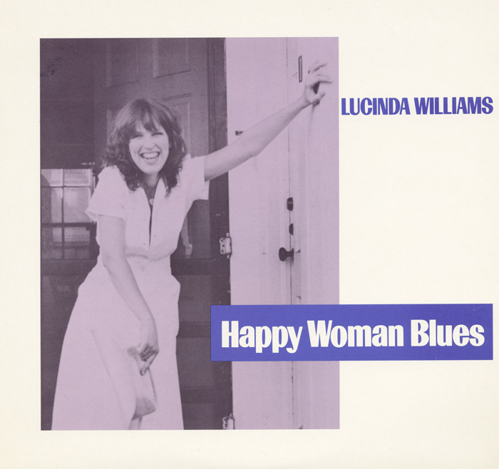 Happy Woman Blues CD cover artwork.