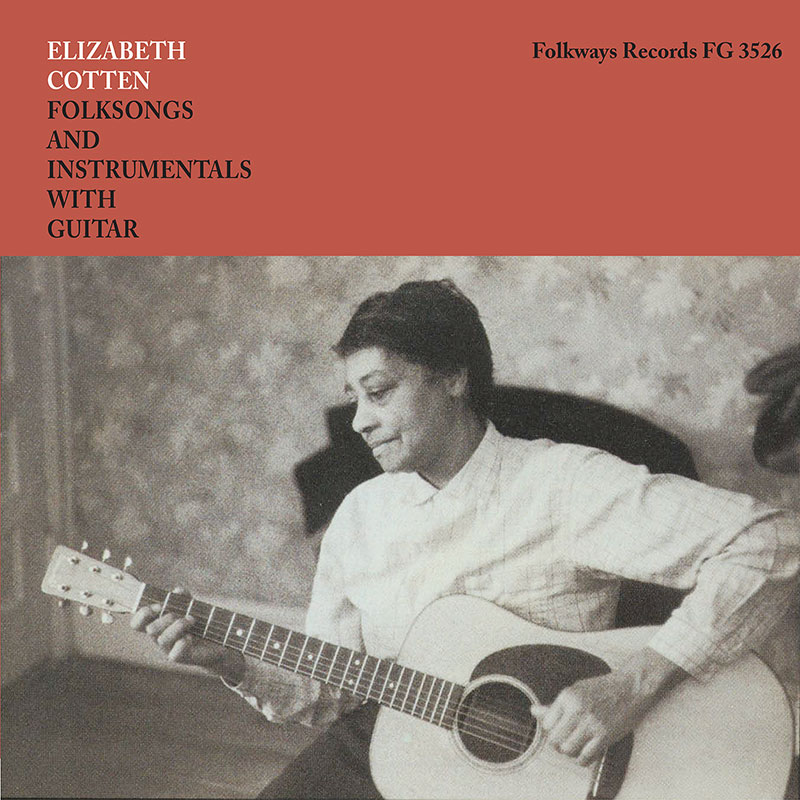 Folksongs and Instrumentals with Guitar original LP cover artwork.