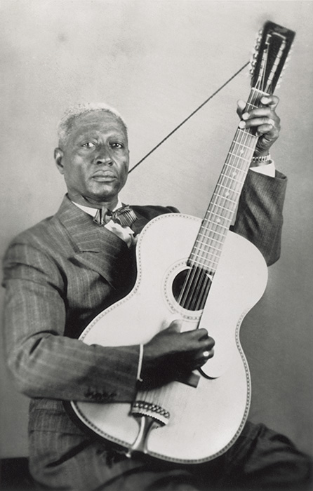 Courtesy Smithsonian Folkways and Lead Belly Estate, All Rights Reserved.