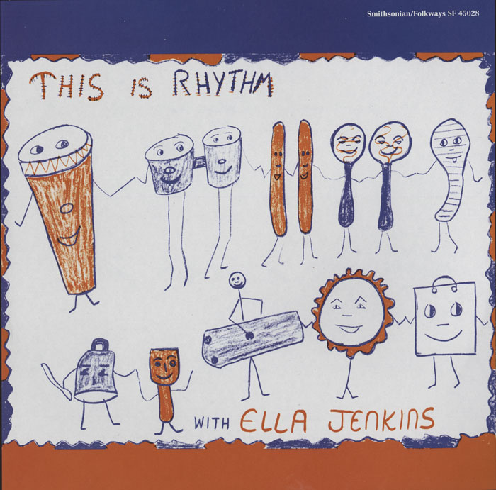 This is Rhythm vinyl LP artwork.