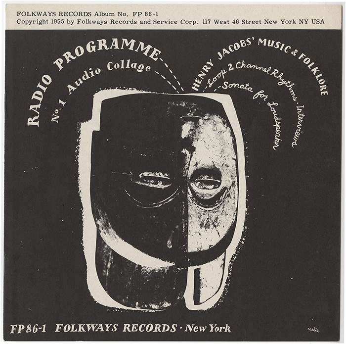 Cover: Carlis / Courtesy of the Ralph Rinzler Folklife Archives and Collections