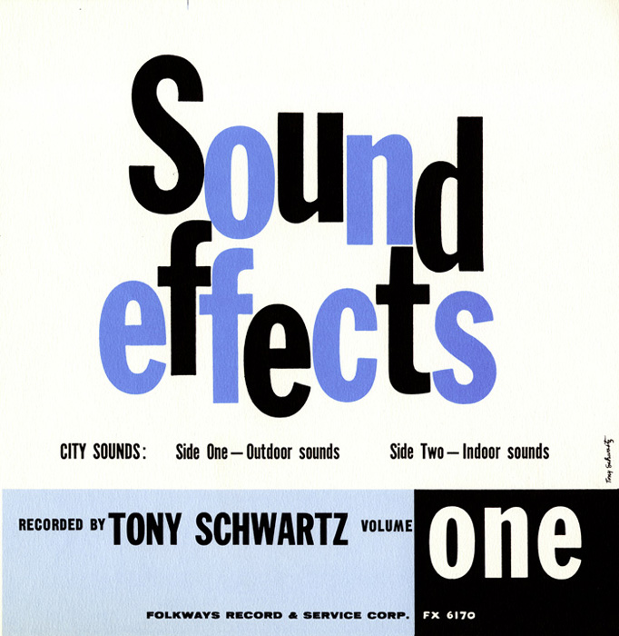 Year of Recording: 1958 / Cover: Tony Schwartz