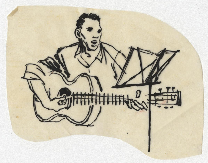 Artist: Don Silby / Courtesy of the Ralph Rinzler Folklife Archives and Collections