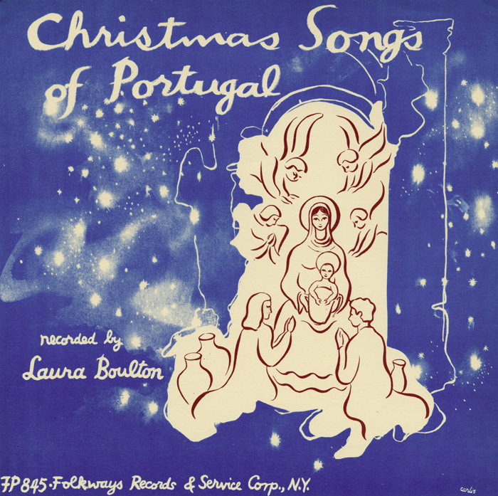 Various Artists, Christmas in Portugal (1955), FW06845 / FP 6845 / FW 6845.