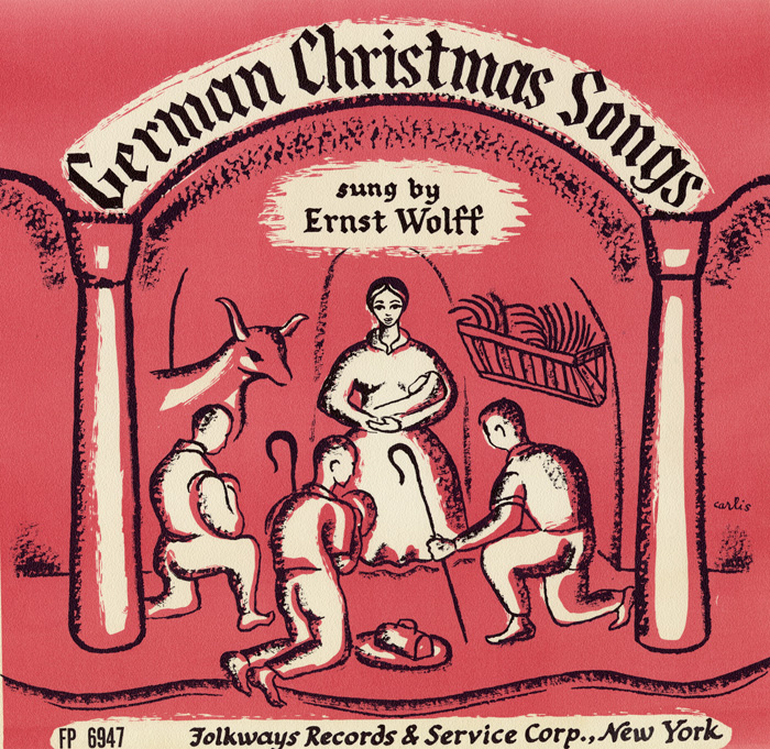 Ernst Wolff, German Christmas songs (1956), FW06947 / FW 16947.