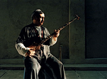 Abduvali Abdurashidov and his Sato.