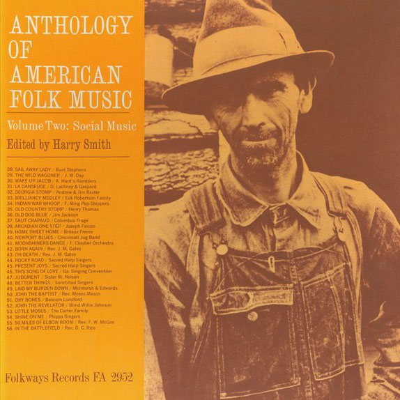 Album Cover: Anthology of American Folk Music, Vol. 2: Social Music
