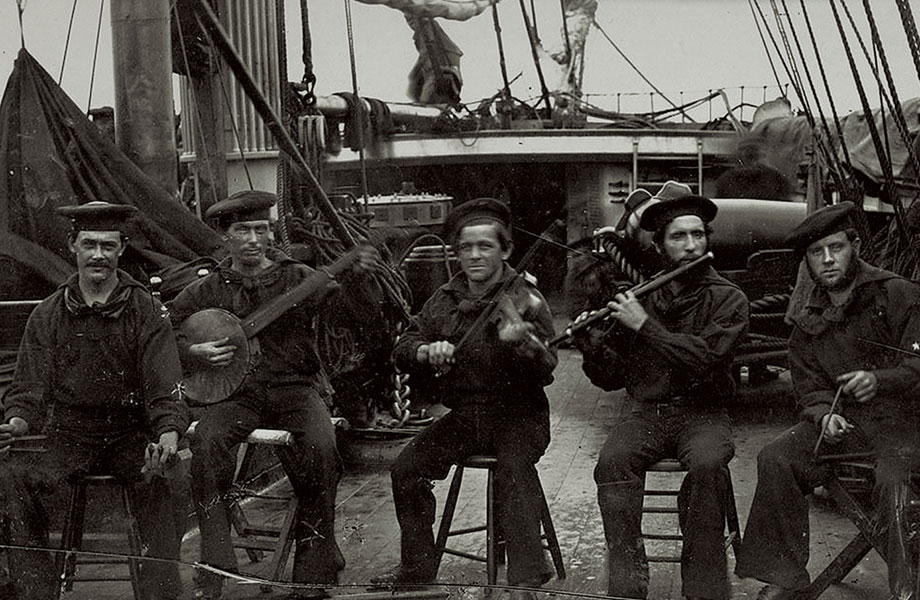 Civil War Naval Songs: Recording 19th Century Historical Ballads