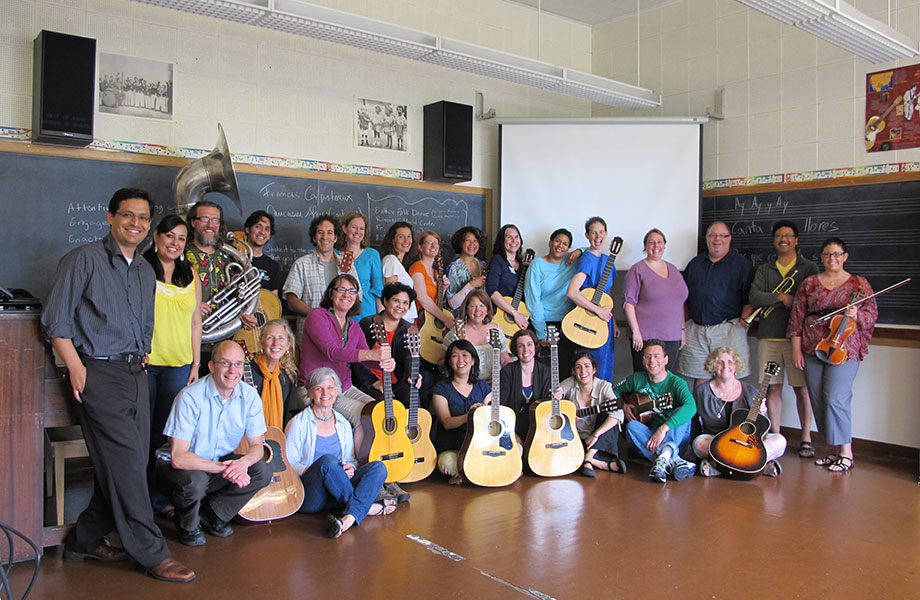 Smithsonian Folkways Certification Workshop in World Music Pedagogy