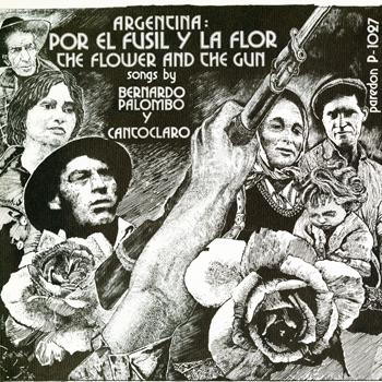 Argentina: Por el Fusil y La Flor album cover, 1975
