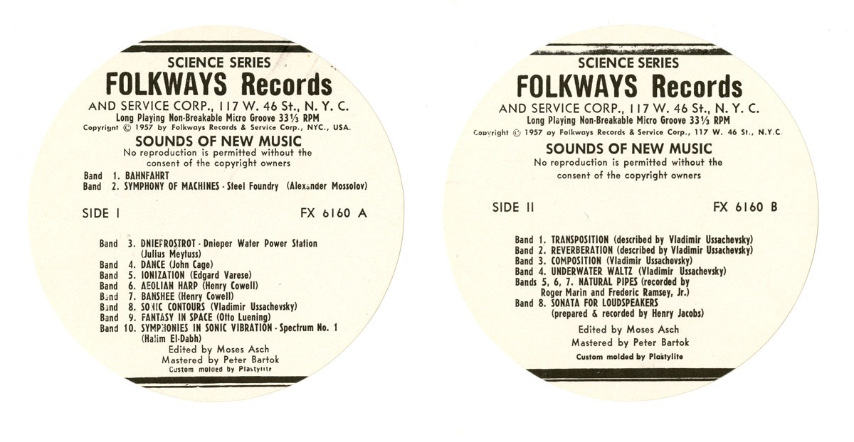 LP labels