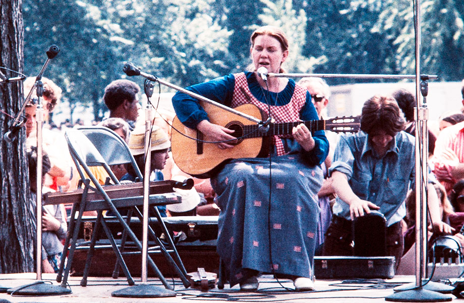 Jean Ritchie at the Smithsonian Folklife Festival, 1972.