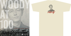 Woody at 100 poster and T-shirt