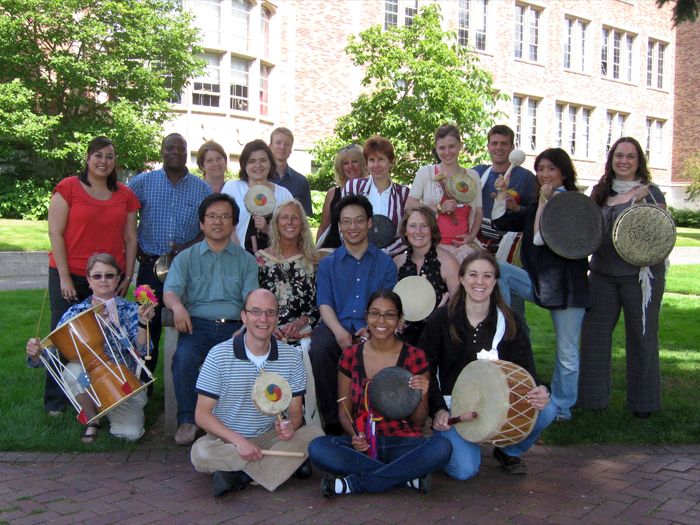 Workshop participants at the University of Washington