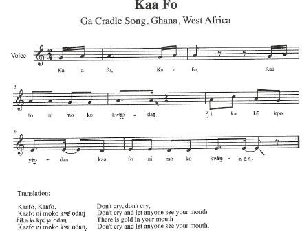 kaa fo - African Christmas Songs