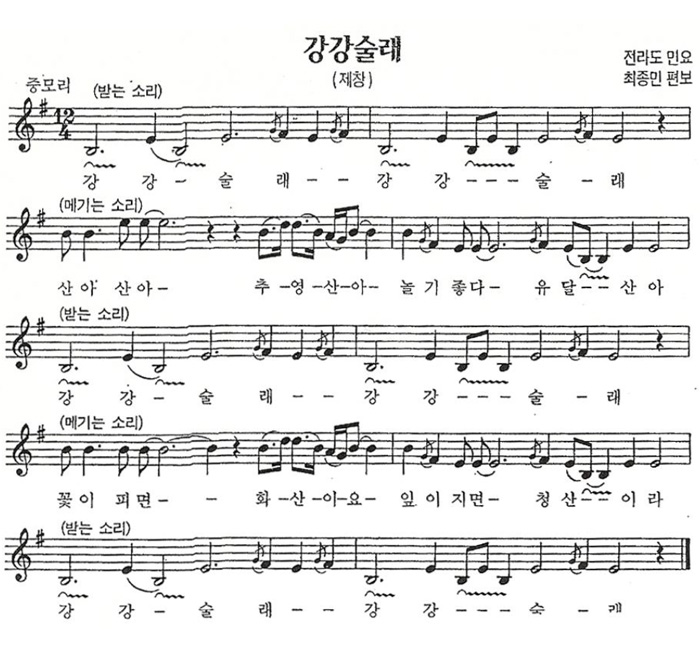 Smithsonian folkways ganggangsullae korean dance music of the ganggangsollae song in namdo folksong mode stopboris Images