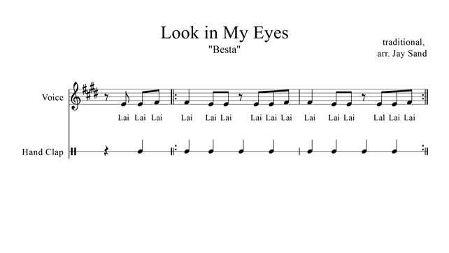 Look In My Eyes Music