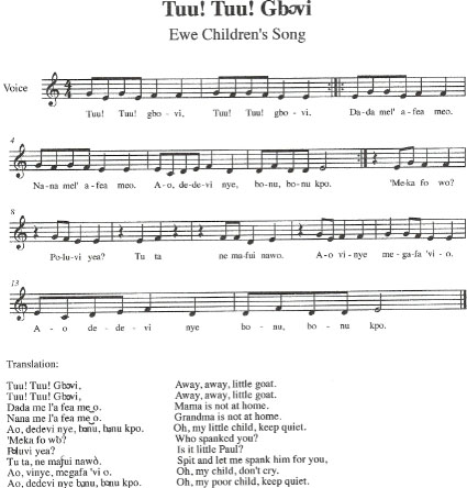 West african song and chants childrens music from ghana tuu tuu gbovi m4hsunfo